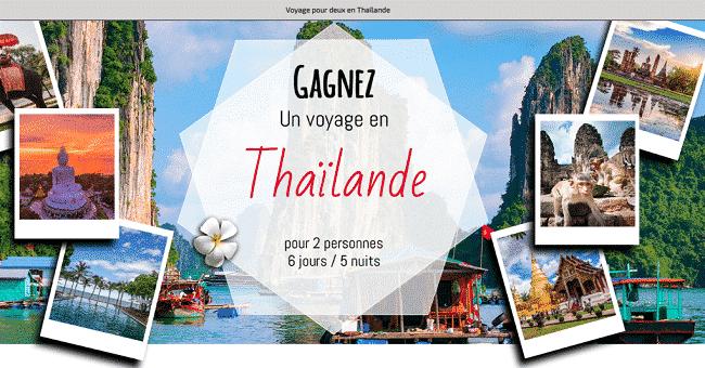 voyage thailande concours
