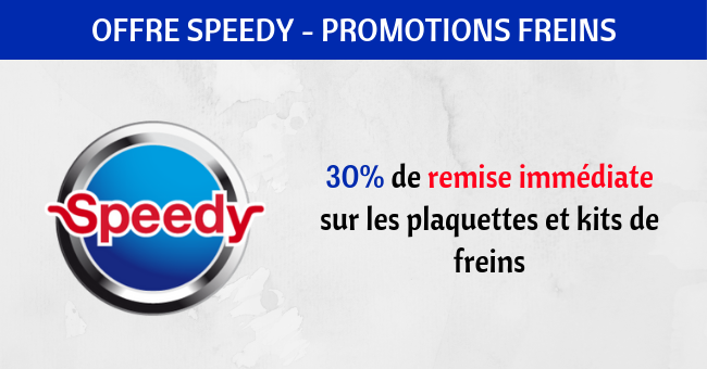 speedy promotions freins