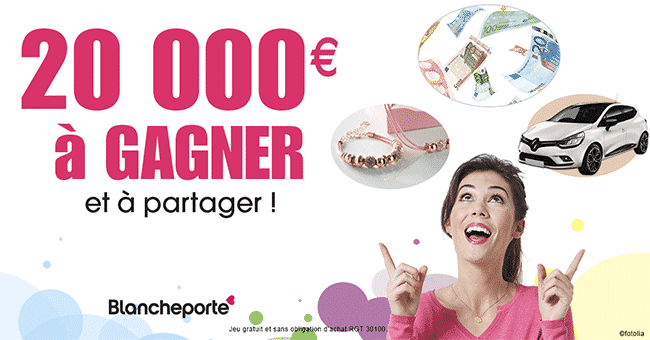 20000euros cheque concours