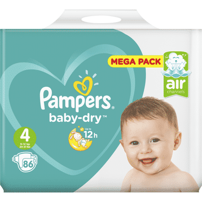 Couches Pampers reduction
