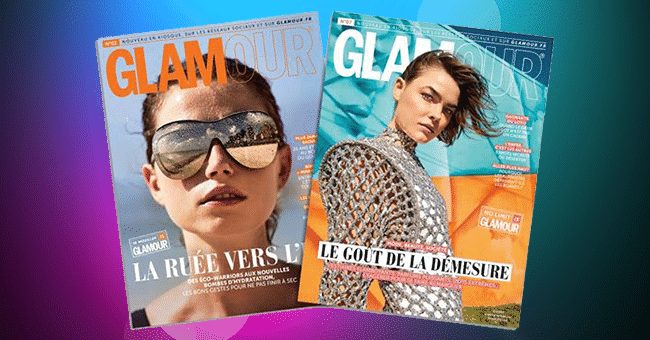 magazines glamour gratuits