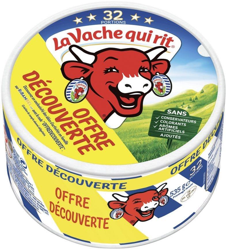 3073780593083 la vache qui rit 32 portions