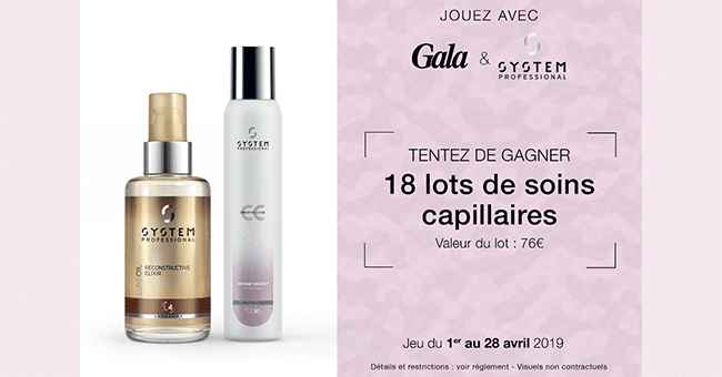 concours gala capillaire