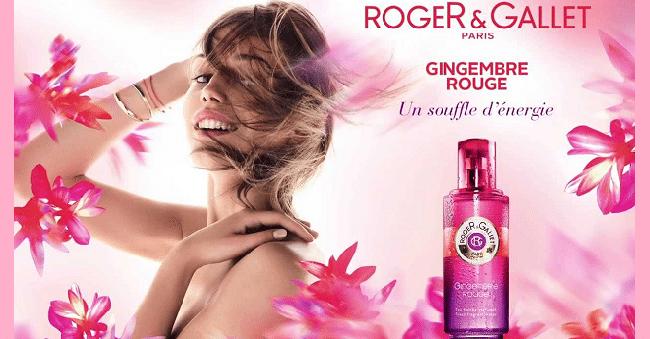 gingembre rouge roger gallet echantillon parfum