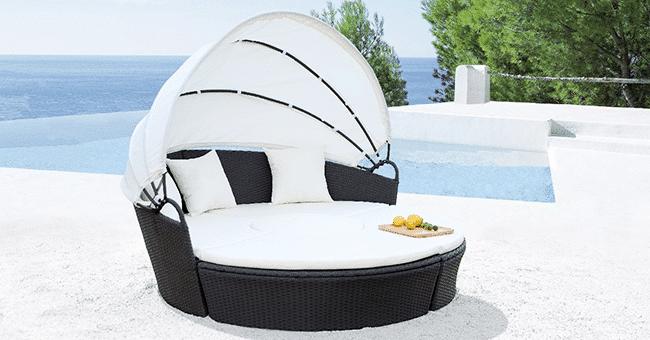 bain de soleil modulable concours tectake