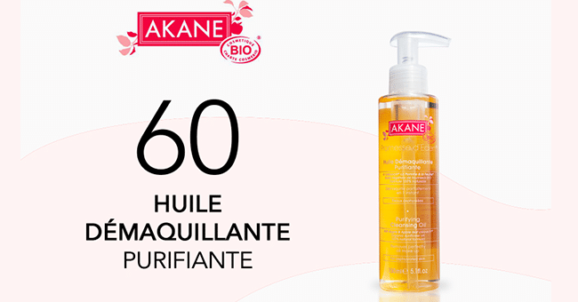 akane huile de maquillante purifiante concours