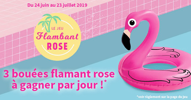 boue FLAMBANT ROSE concours