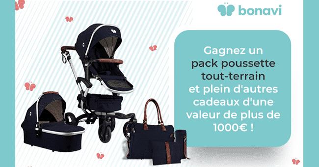 concours pack poussette bonavi