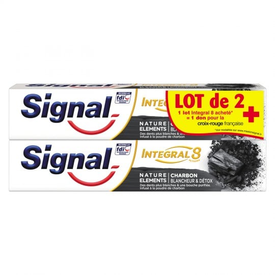 dentifrice signal reduction