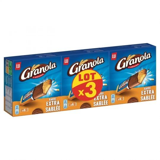 barre granola reduction