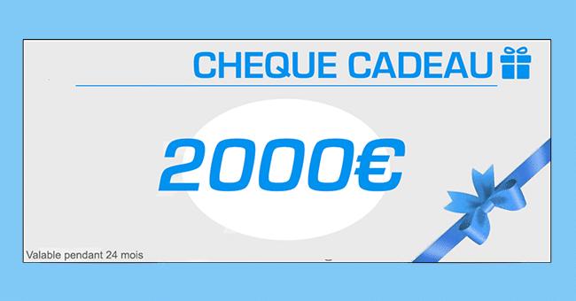 cheque cadeau 4000e concours