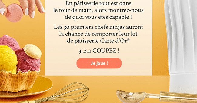 concours kit carte d or