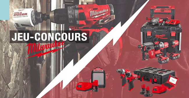 concours outils milwaukee