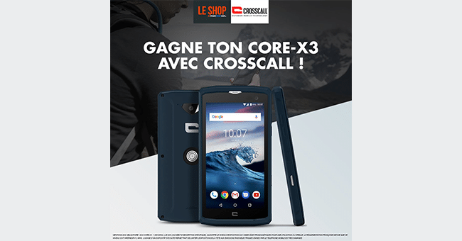 concours smartphone crosscall