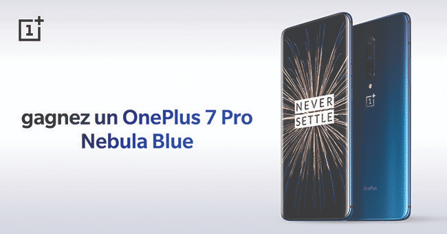 concours smartphone one plus 7 1