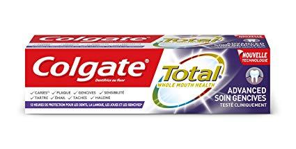 dentifrice colgate reduction