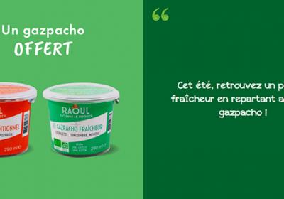 gazpacho offert gratuitement