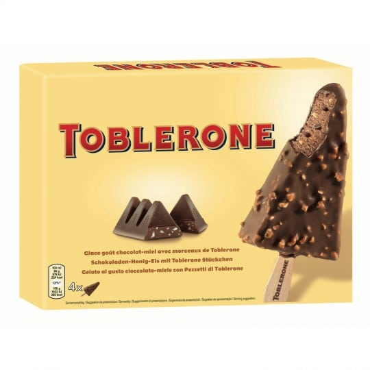 toblerone glace reduction