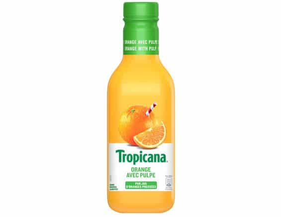 tropicana jus reduction