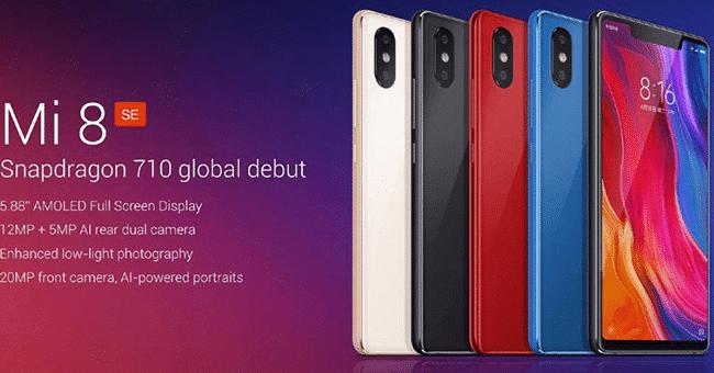 Xiaomi Mi 8 concours