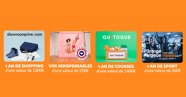 concours shopping courses