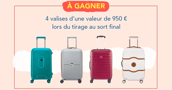 concours valises delsey