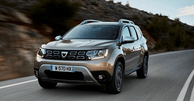 dacia duster concours