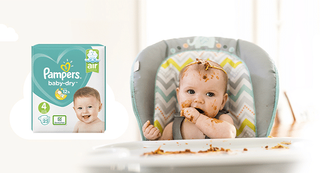 test pampers baby dry