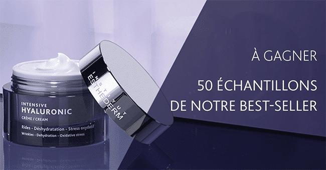 50 echantillon institu esthederm concours