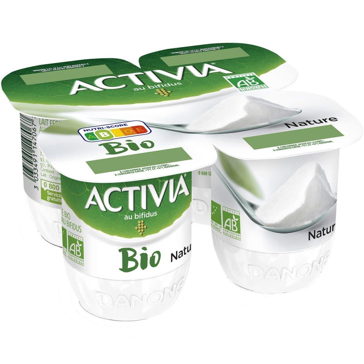 activia yaourt reduction