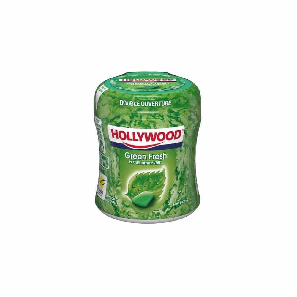 chewing gim hollywood reduction