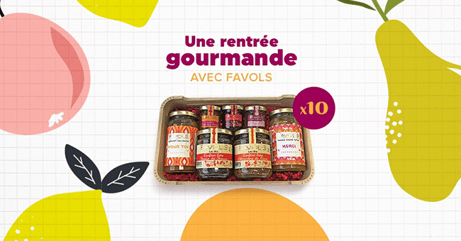 coffret gourmand concours