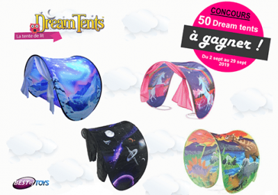 concours dream tents