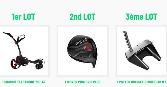 concours la route du golf