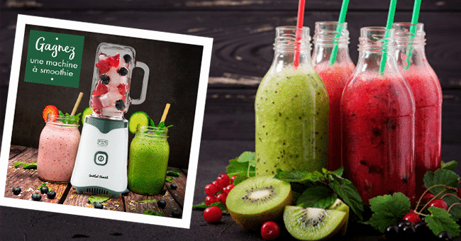 concours machine smoothies