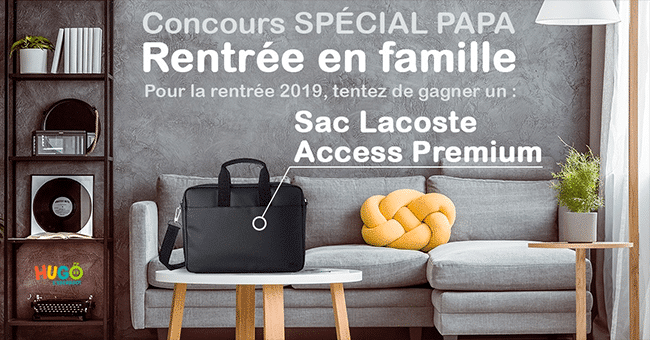 concours sac lacoste