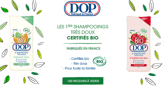 concours shampoing dop
