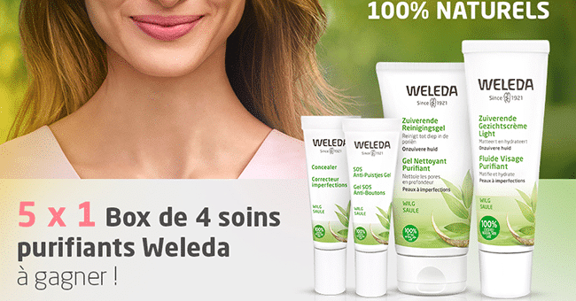concours soins weleda
