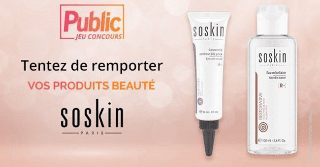 concours sooskin soins