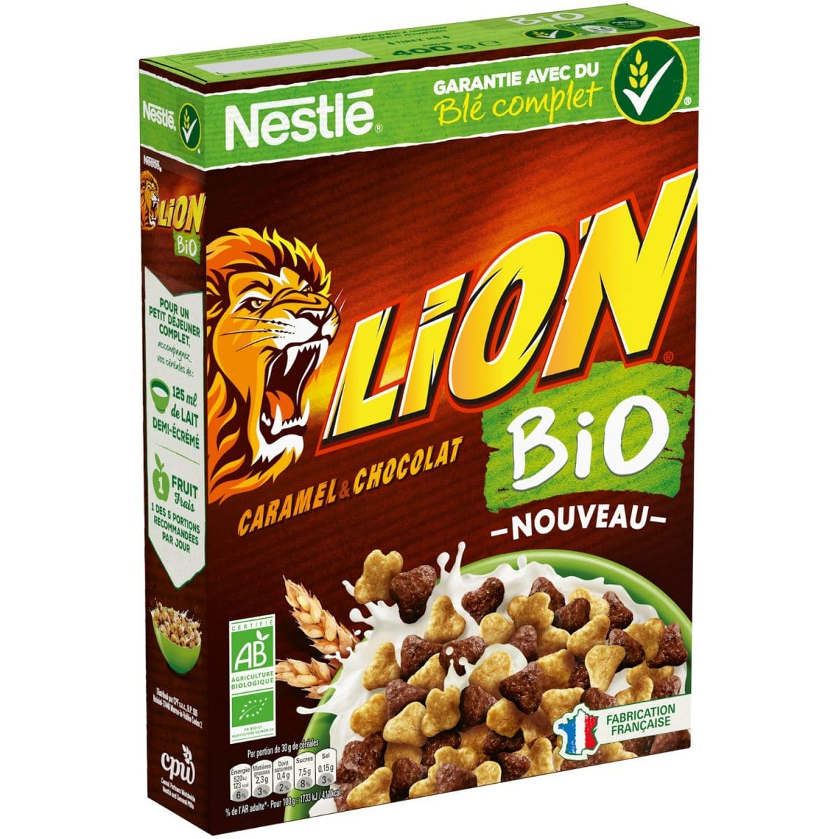 lion cereale reduction