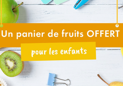 panier fruits cadeau