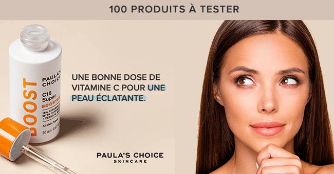 produit boost test