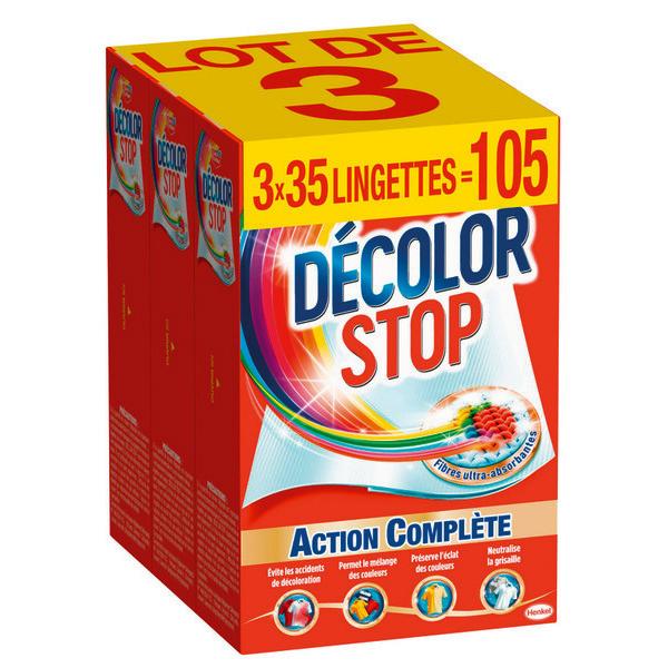 reduction decolor stop lingette