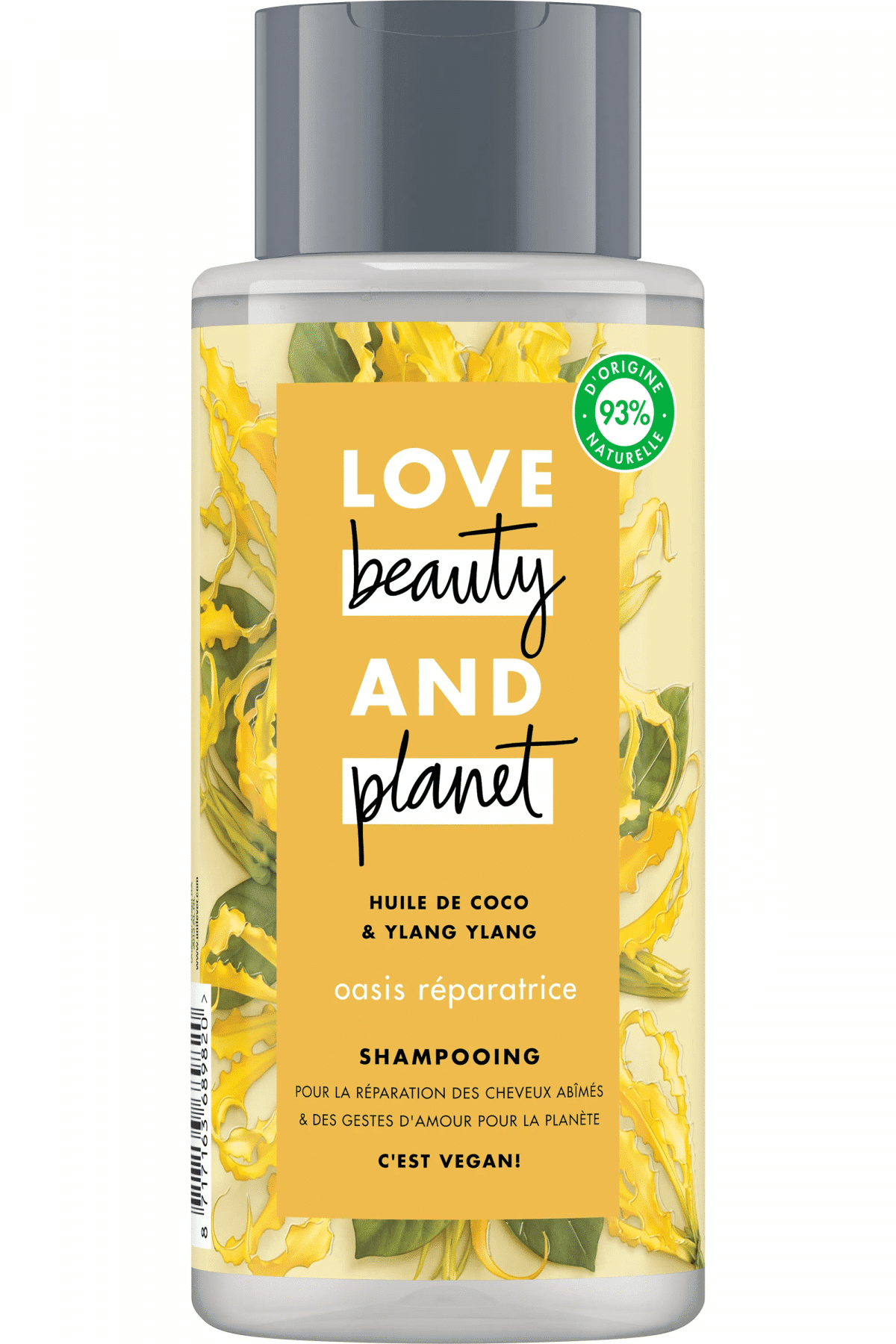 reduction shampoing love beauty and planet