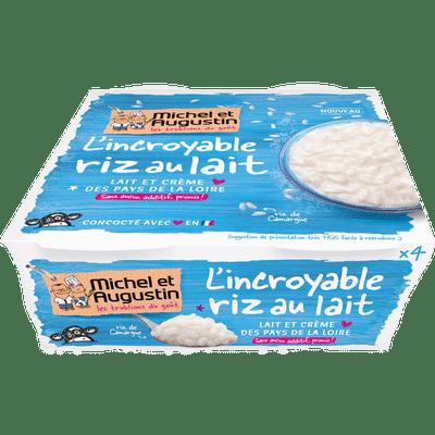 riz au lait michel et augustin reduction
