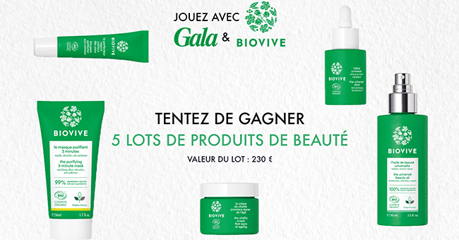 soins biovive concours