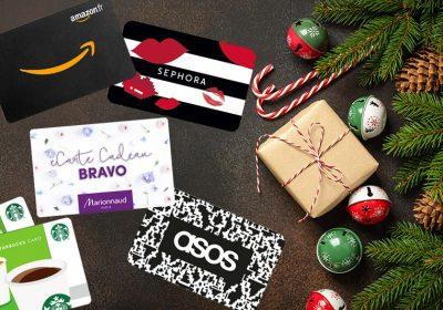 Cartes cadeau Noel