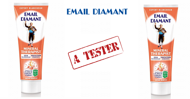DENTIFRICE EMAIL DIAMANT TEST