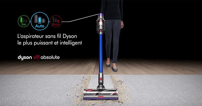 concours aspirateur dyson v11