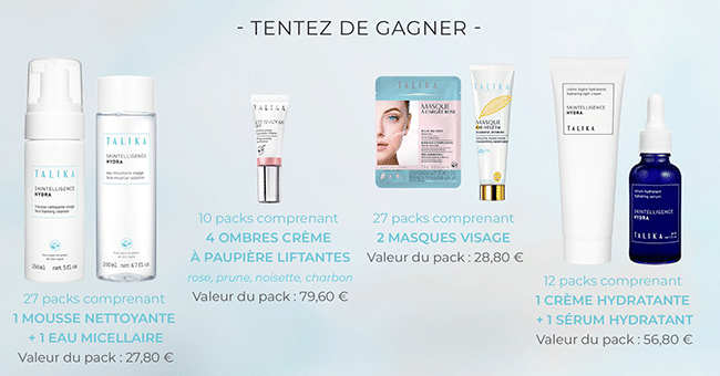 concours pack talika